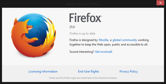 موزيلا تطلق النسخة الرسمية لمتصفح فايرفوكس 25 غدا
