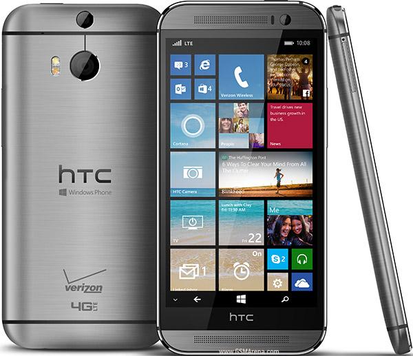 إتش تي سي تكشف رسميا عن نسخة ويندوز فون من One M8