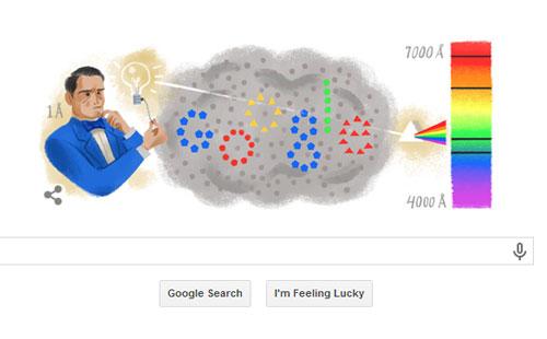 غوغل يحتفل بمرور 200 عام على ميلاد العالم الفيزيائي إنستجروم