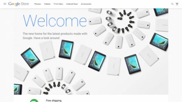 جوجل تطلق متجر جوجل ستور لعرض منتجاتها الإلكترونية