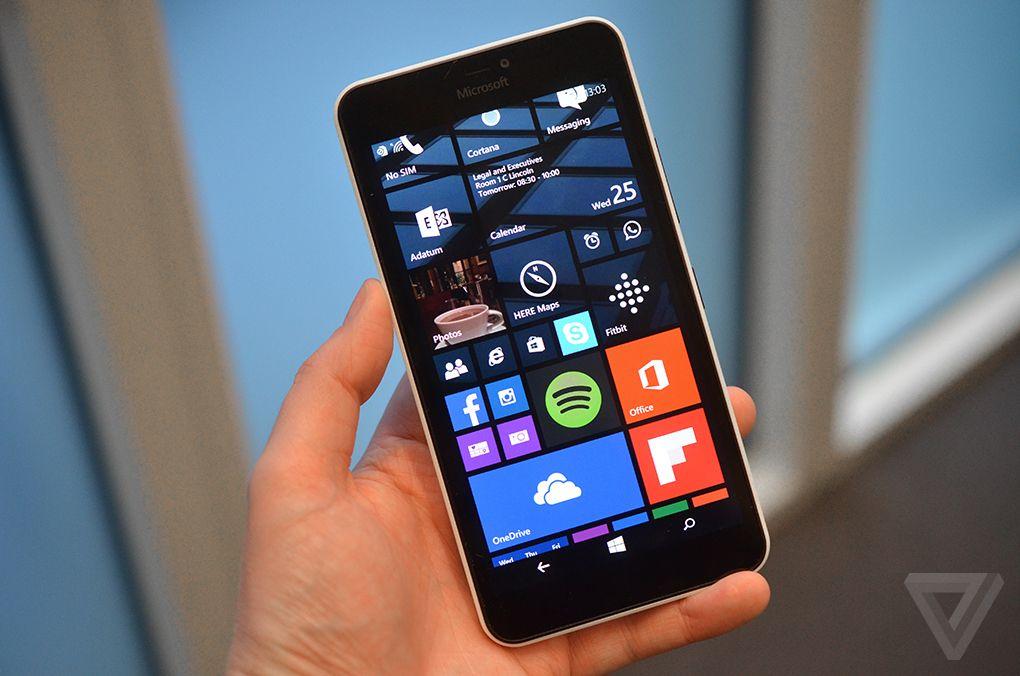 مايكروسوفت هاتف لوميا 640 الذكي أول من يحصل على ويندوز 10