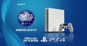 سوني تنوي إطلاق إصدار باللون الأبيض من جهاز PS4 Slim..