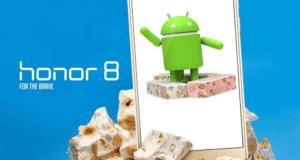 هواوي تنوي إطلاق تحديث أندرويد نوجا 7.0 على هاتف Honor 8 الأسبوع المقبل..