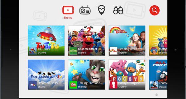 تطبيق يوتيوب الأطفال المميز يوفر محتوى آمن للأطفال - تكنولوجيا نيوز