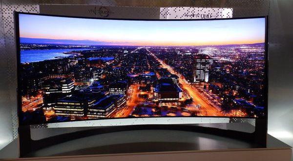 سامسونج الشركة الوحيدة المصنعة لشاشات التلفاز المنحنية هذا العام - تكنولوجيا نيوز