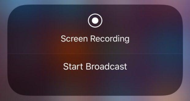 أبل تطلق ميزة البث المباشر للفيديو في iOS 11 - تكنولوجيا نيوز