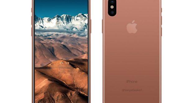 تسريب صور وفيديو لتصميم هاتف iPhone 8