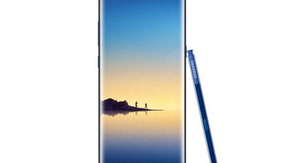 صورة مسربة لهاتف Galaxy Note 8 باللون الأزرق الغامق