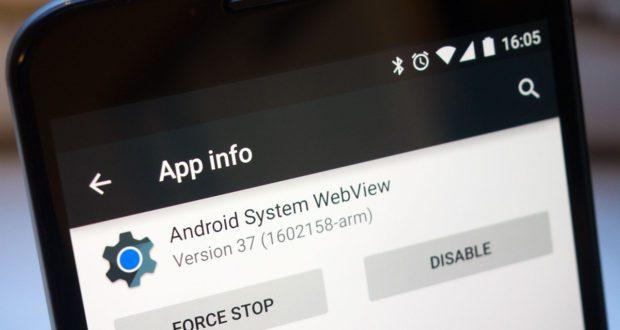 أهمية تطبيق Android System WebView وكيفية استخدامه