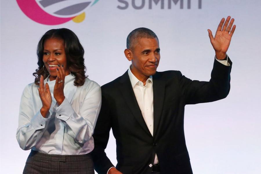 الرئيس السابق أوباما وزوجته يتعاقدان على مسلسلات وأفلام مع نتفليكس