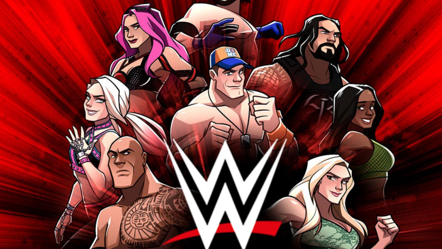 لعبة مصارعة مميزة لمواجهة أبطال WWE ومنافسة الأصدقاء