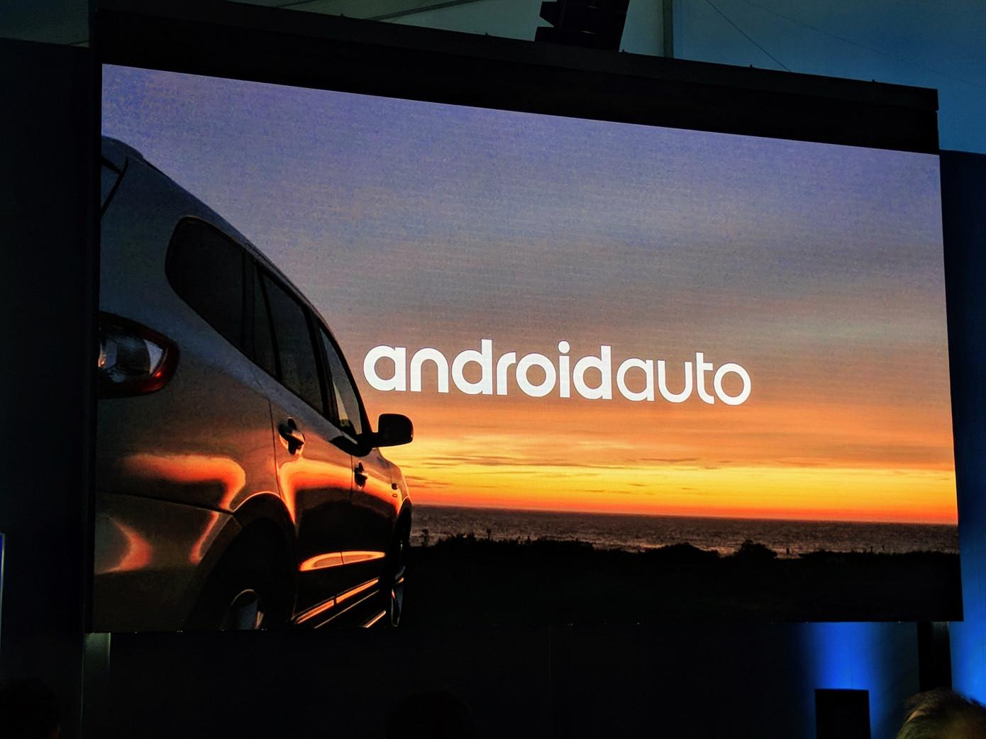 جوجل تستعرض أندرويد أوتو الذي سيتوفر في السيارات مستقبلا