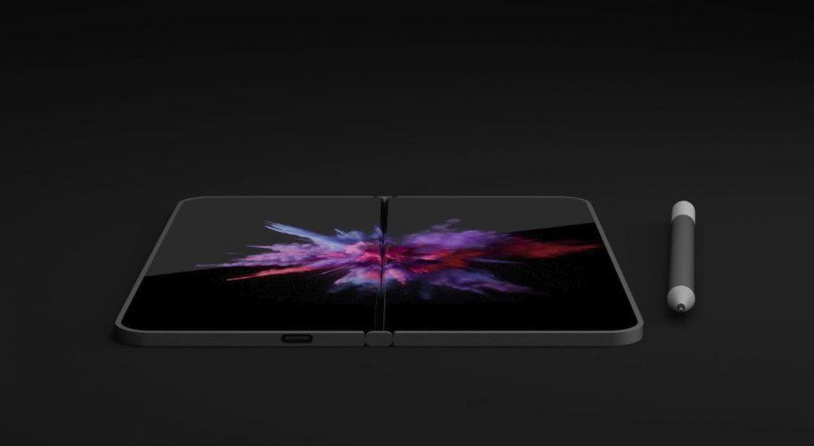مايكروسوفت تعمل على تطوير هاتف قابل للطي بثلاث شاشات