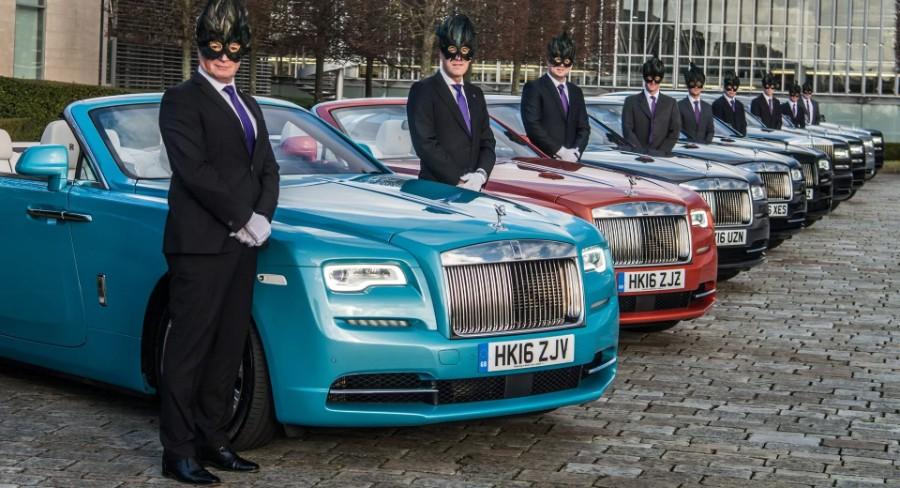 رولز رويس لا تحتاج قيادة سياراتها ذاتيا حيث هنالك سائقين مخصصين لذلك