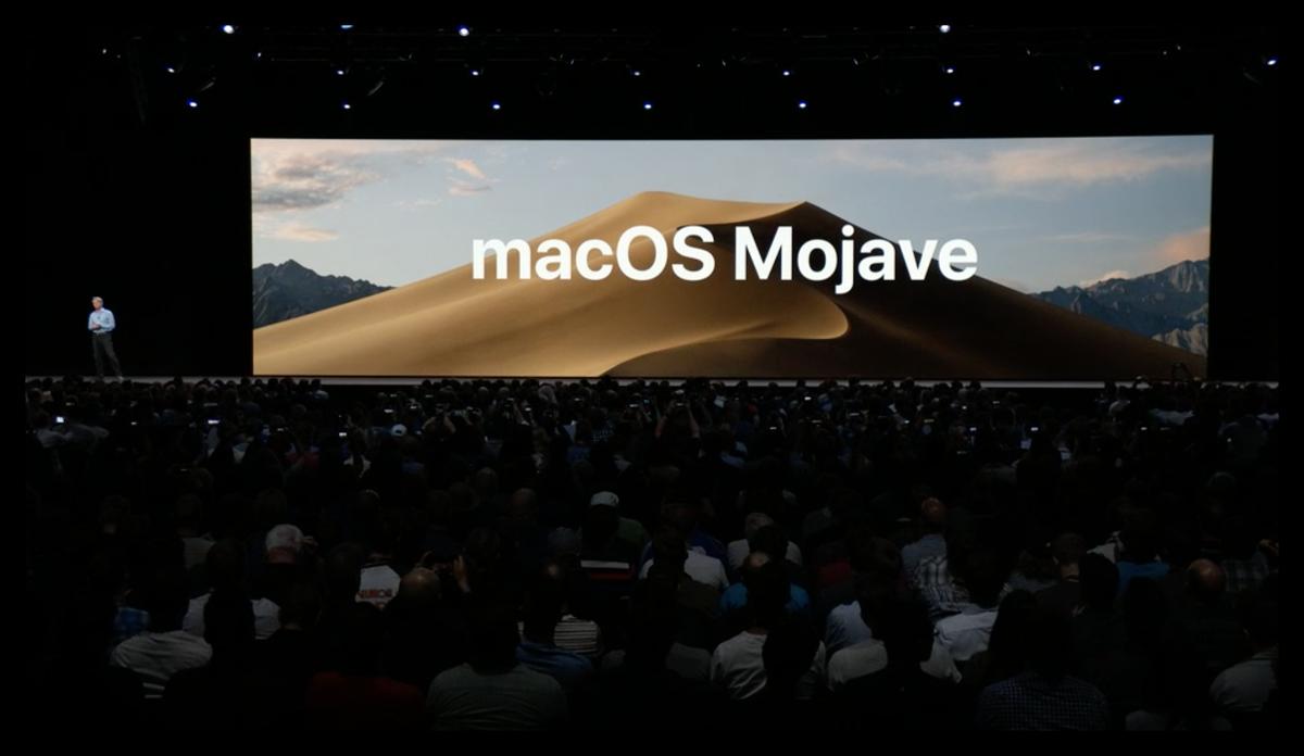 أبل تكشف رسميا عن نظام ماك OS موهافي