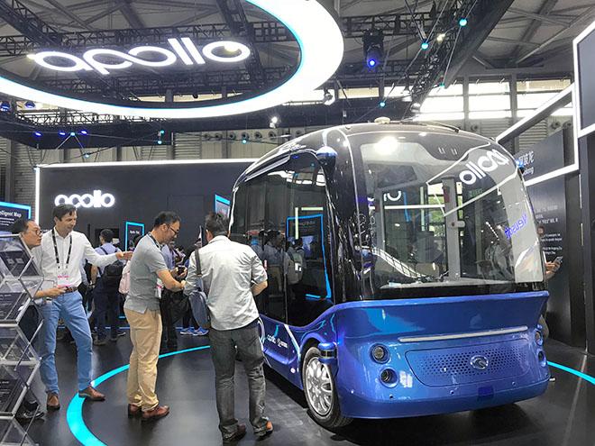 حافلات صينية بدون مقود أو سائق تنطلق في شوارع اليابان مطلع 2019