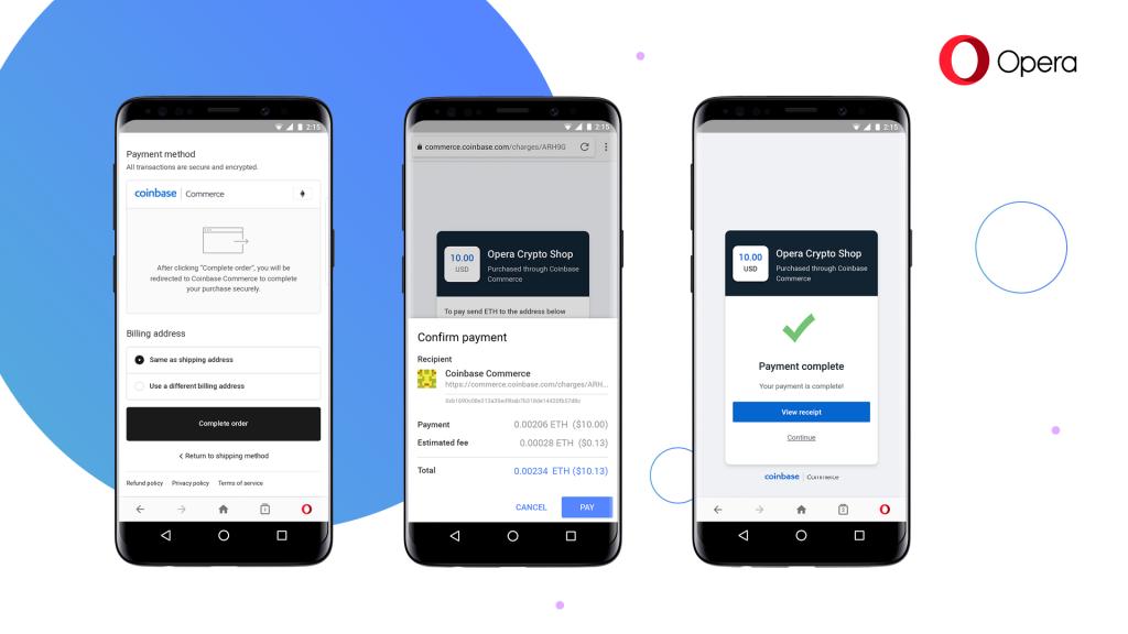 متصفح أوبرا متوفر الآن بنسخة تجريبية تدعم العملات الرقمية!
