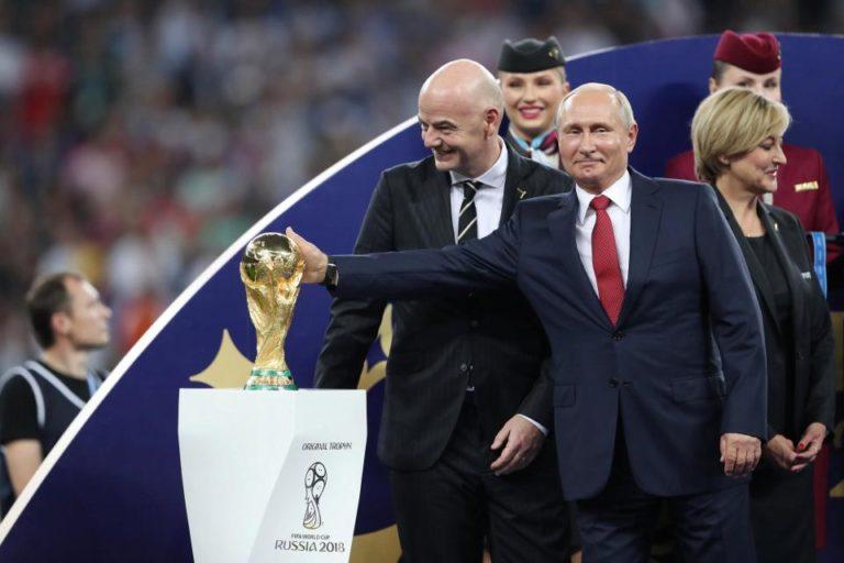 الرئيس الروسي: 25 مليون هجوم سيبراني تصدينا له خلال كأس العالم 2018