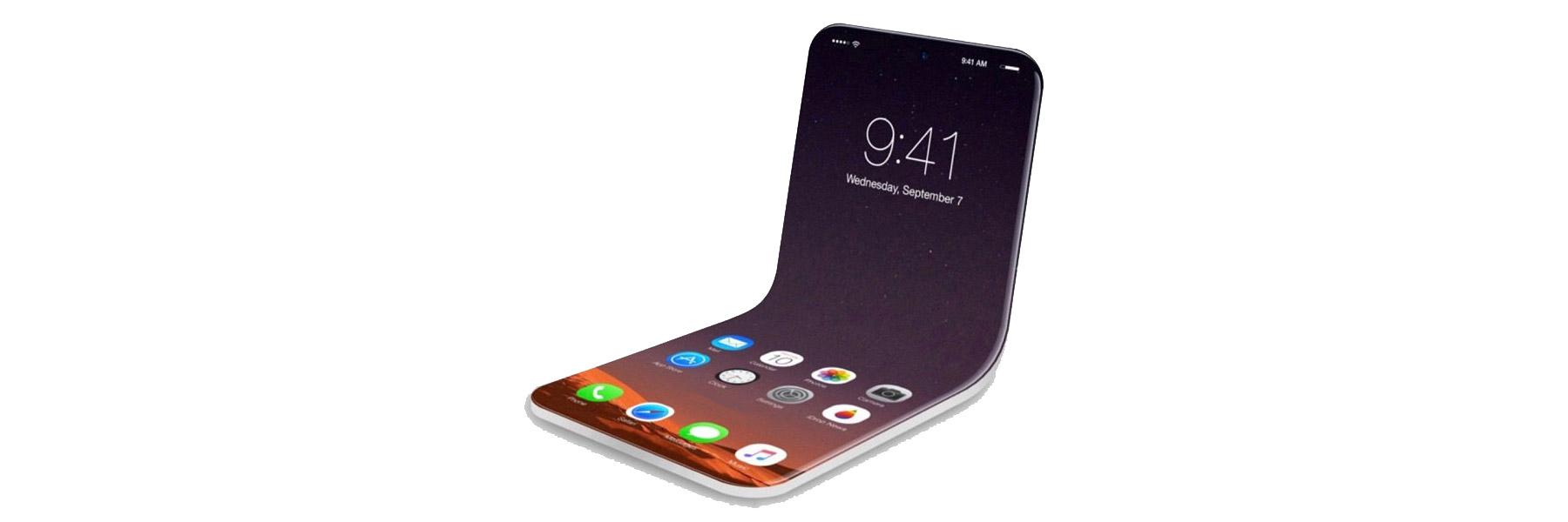 أول دليل على قدوم هاتف آيفون القابل للطي