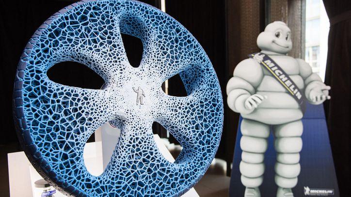 """إطارات سيارتك مستقبلا.. صنع بواسطة """"الخشب"""""""