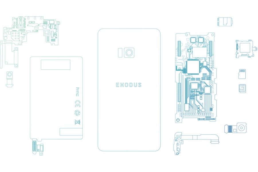 HTC تستعد لإطلاق هاتف إكسودوس لتعدين العملات الرقمية!