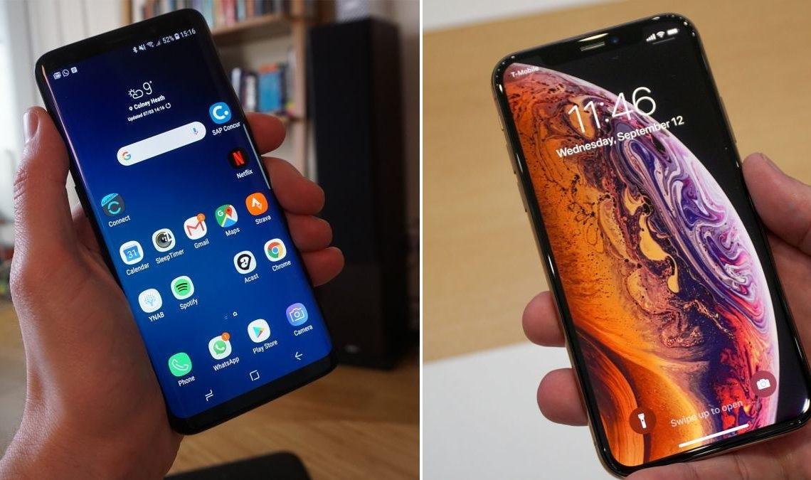 مقارنة شاملة بين Galaxy S9 و iPhone XS .. أي هاتف يجب أن تختار؟