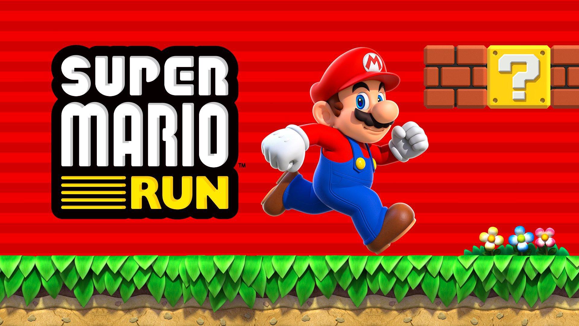 إطلاق لعبة Super Mario Run على iOS