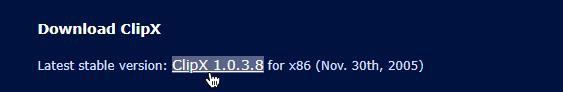 تحميل برنامج ClipX