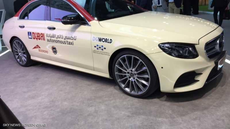 دبي تطلق أول تاكسي ذاتي القيادة رسمياً